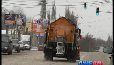 Киевские коммунальщики к непогоде готовы