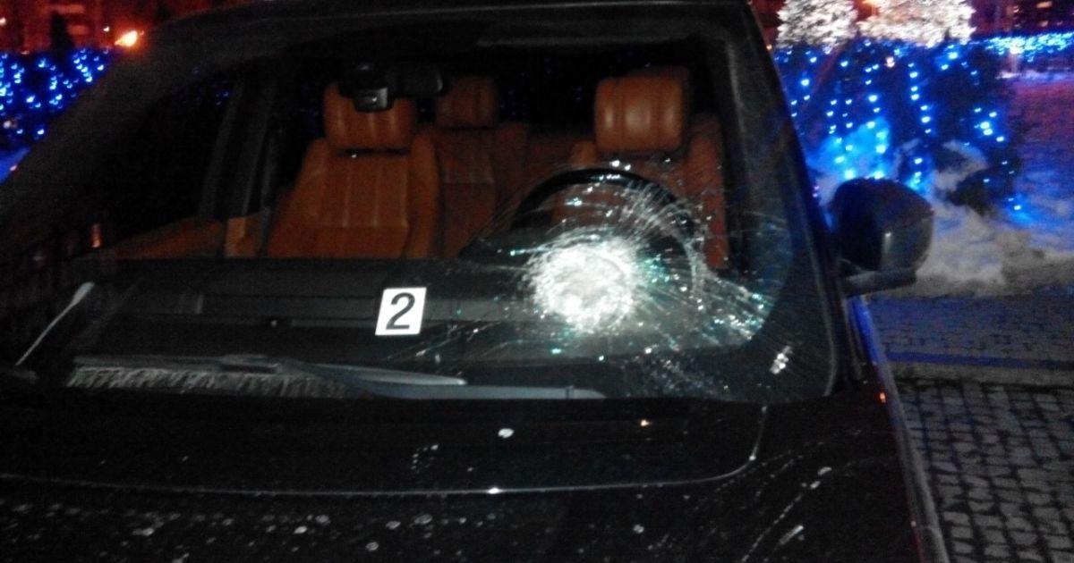 Увечері 14 січня на автомобіль, в якому їхав Сергій Рибалка, було скоєно напад @ прес-служба нардепа Рибалки