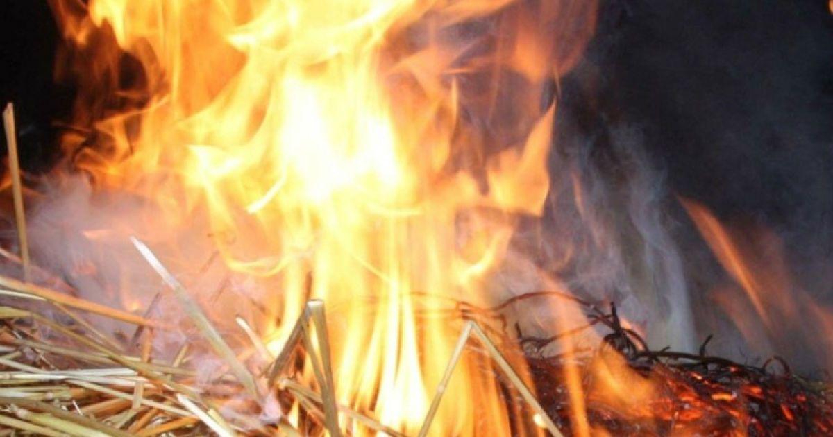 У Бабиному Яру вандали зухвало спалили прапор Ізраїлю біля пам'ятника жертвам нацизму