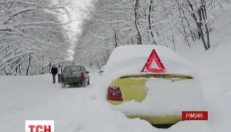 От зимней непогоды страдают Болгария и Румыния