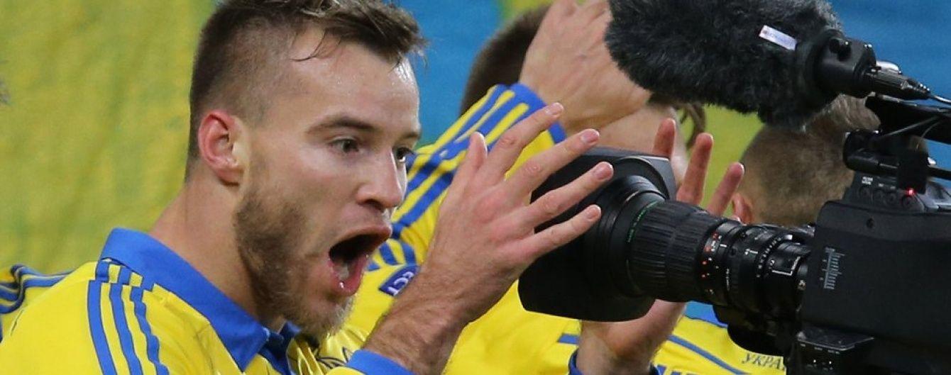 Сборная Украины не потеряла позиций в новом рейтинге лучших команд мира