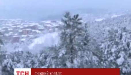 Зима паралізувала Стамбул