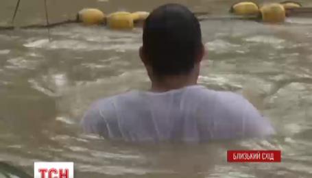 Свято Хрещення першими зустріли на Близькому Сході
