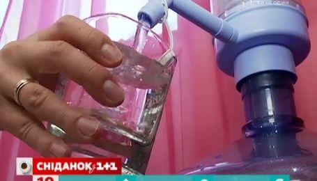 Чи можна пити воду з-під кранів