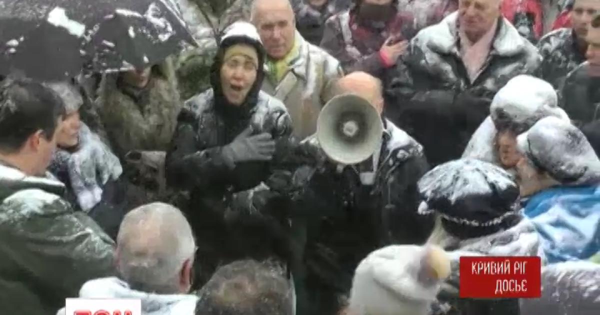 Представники Кривого Рогу оголосили голодування, поки не підпишуть закон про перевибори