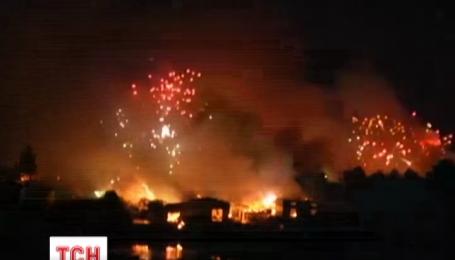 На востоке Китая взорвался завод по производству фейерверков