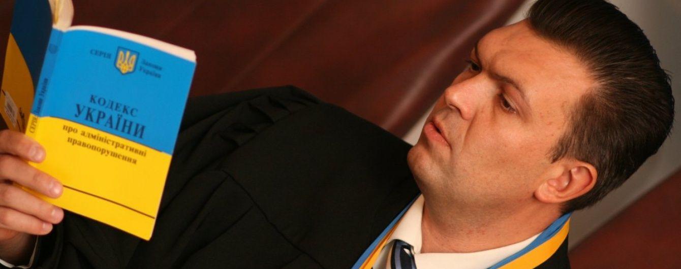 Луценко відкликав клопотання щодо відсторонення з посади харківського судді-хабарника