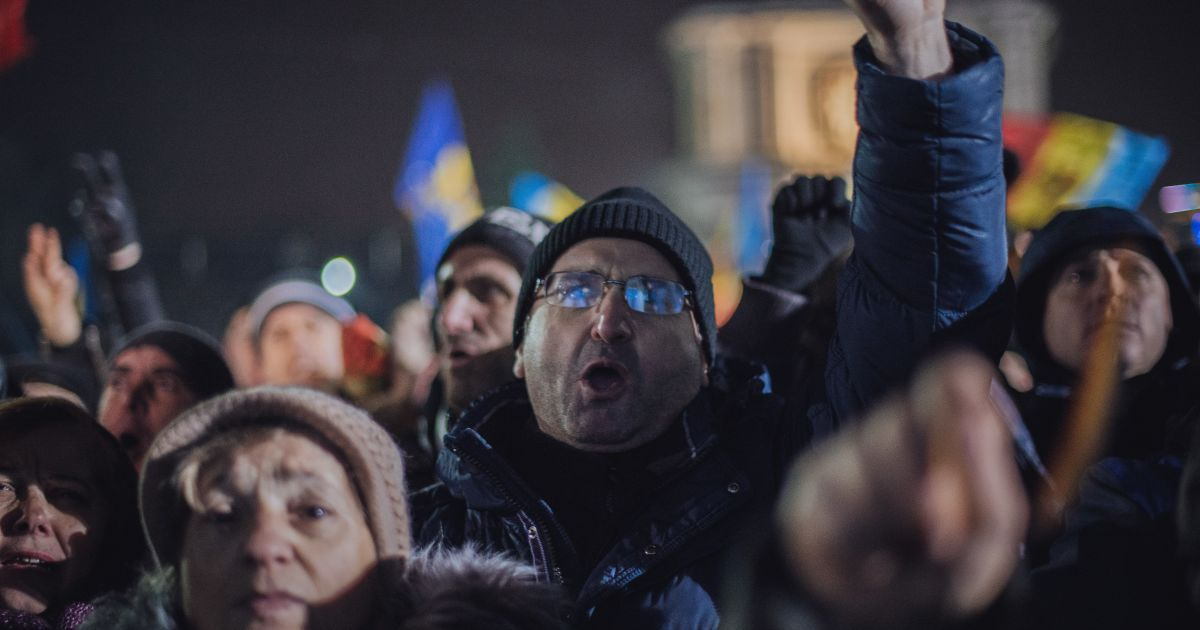 В Молдове обещают наказать протестующих за штурм парламента
