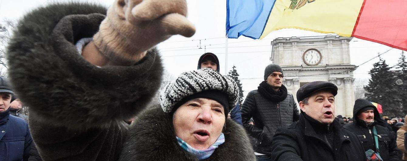 """Молдову охопили масові протести: штурм парламенту, """"приватизація країни"""" та рука Москви"""