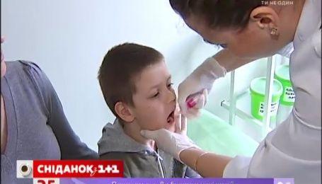 Сегодня в Украине стартует третья волна вакцинации против полиомиелита