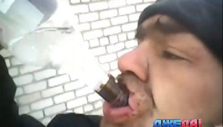 В Чернигове водитель грузовика продал колеса фуры, чтобы купить водки