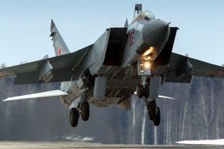 В России разбился сверхзвуковой истребитель Миг-31