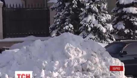 На Харьковщине и Сумщине сегодня зафиксировано падение температуры до минус 26 градусов