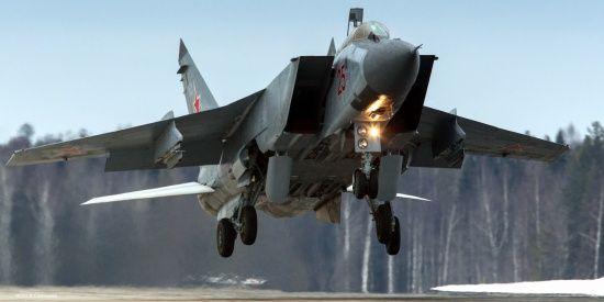 У Росії розбився надзвуковий винищувач МіГ-31