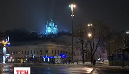 Киев оправился от снежной бури и десятибалльных пробок