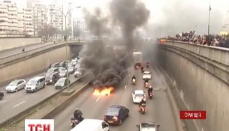 Парижская полиция задержала 20 участников протестов, что накануне всколыхнули столицу