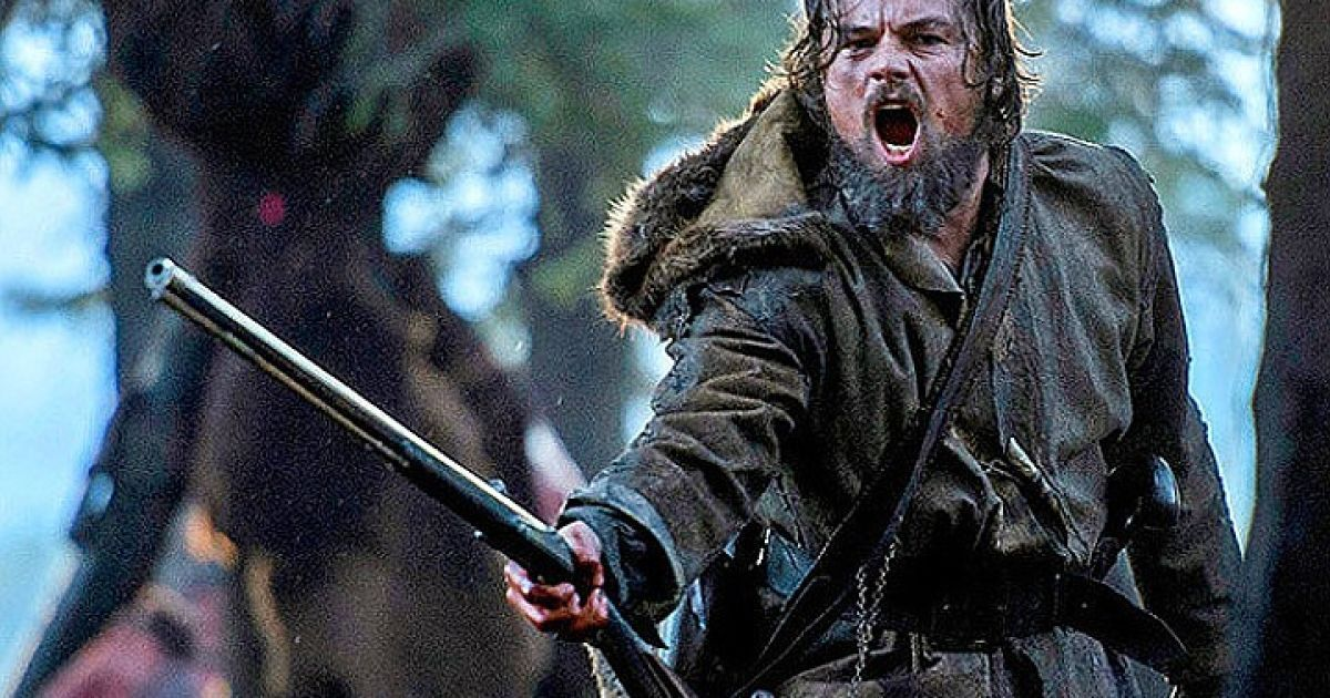 """Творці """"Легенди Г'ю Гласса"""" розповіли, як ДіКапріо боровся із """"ведмедицею"""""""