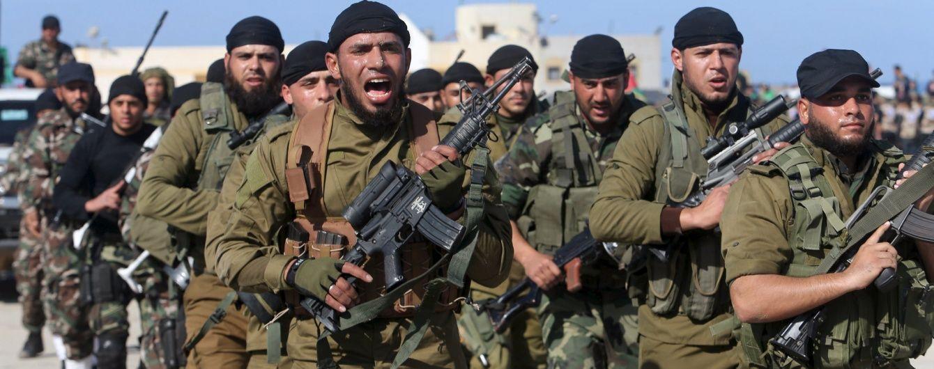 Израиль атаковал ХАМАС в Секторе Газа