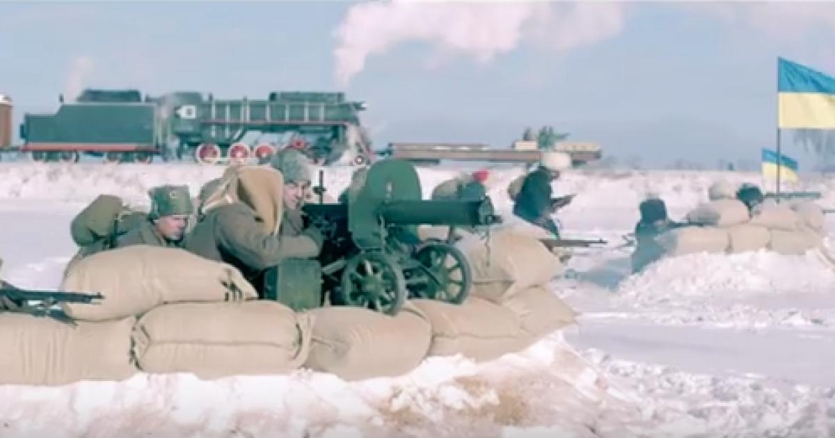 В Сети появилось впечатляющее сильное видео в честь героев Крут