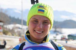 """Українська біатлоністка завоювала """"бронзу"""" в спринті юніорського чемпіонату світу"""