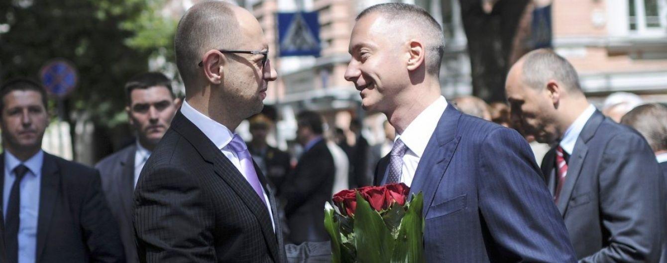У Порошенка не обговорювали майбутнє Яценюка у разі його відставки