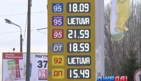 Газ на заправках дешевеет