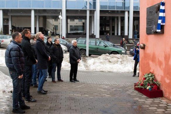 Вшанування памяті Белькевича у Мінську