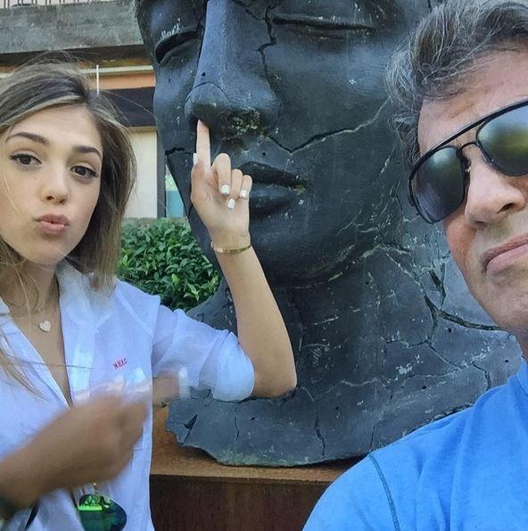 Сильвестр Сталлоне, фото с дочками, Instagram ... кэти перри инстаграм