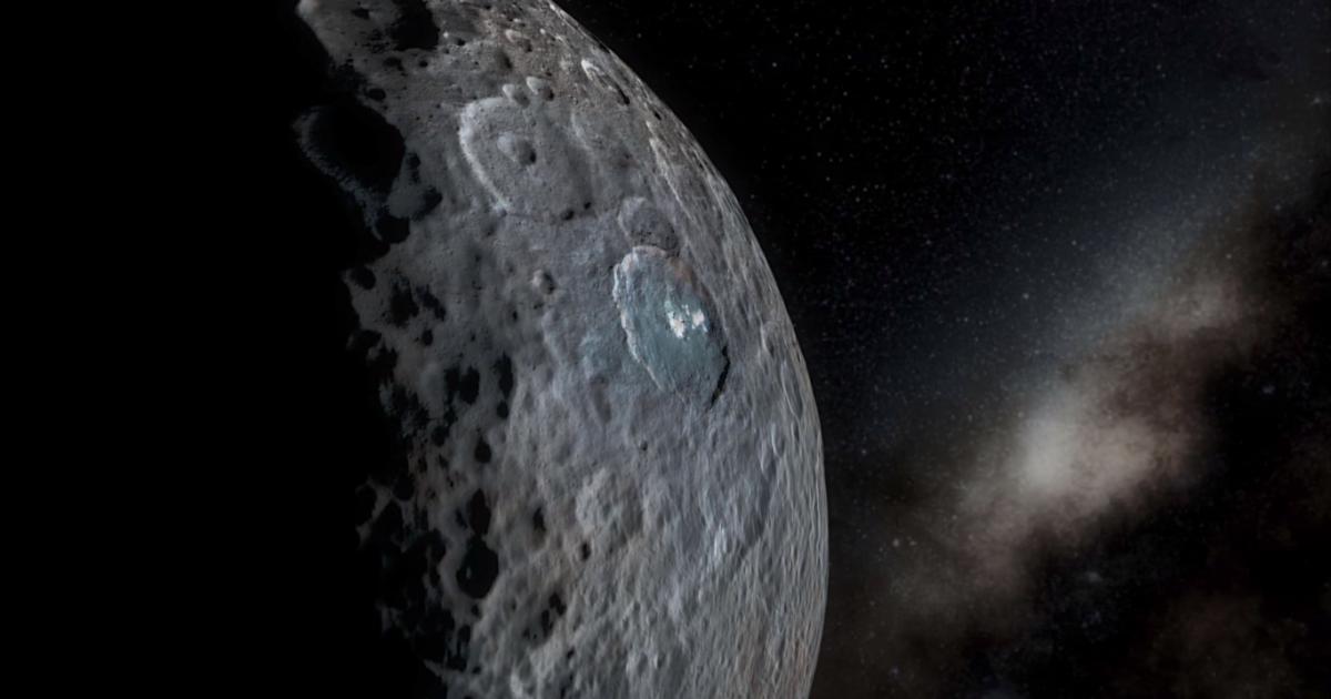 Ученые заметили, что загадочные белые пятна на Церере начали меняться