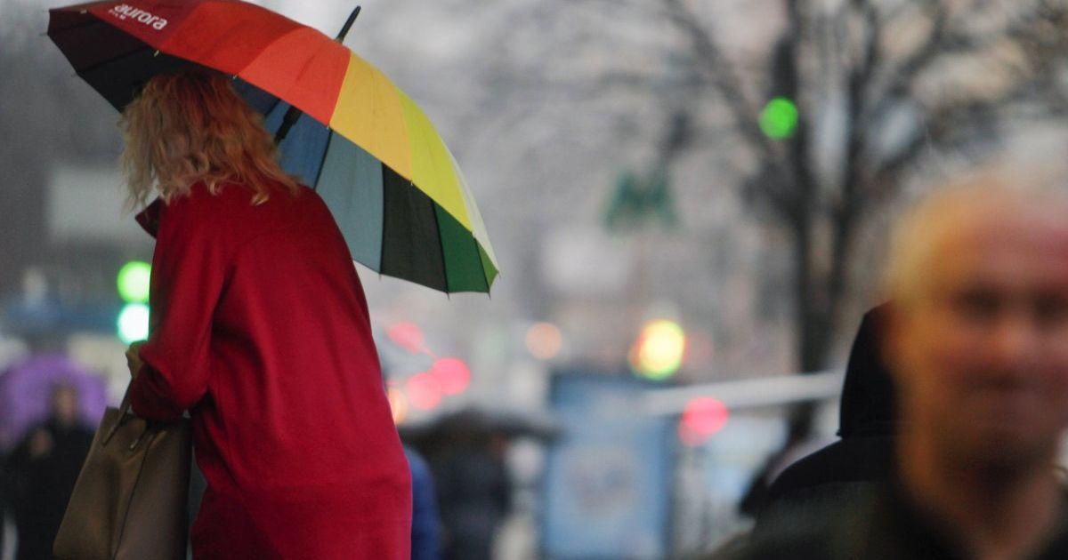 Украинцам обещают теплую, но дождливый неделю. Прогноз погоды