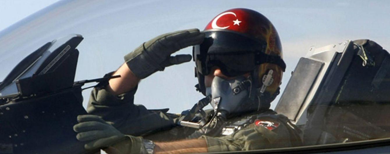 ВВС Турции нанесли удары по объектам террористов на севере Ирака