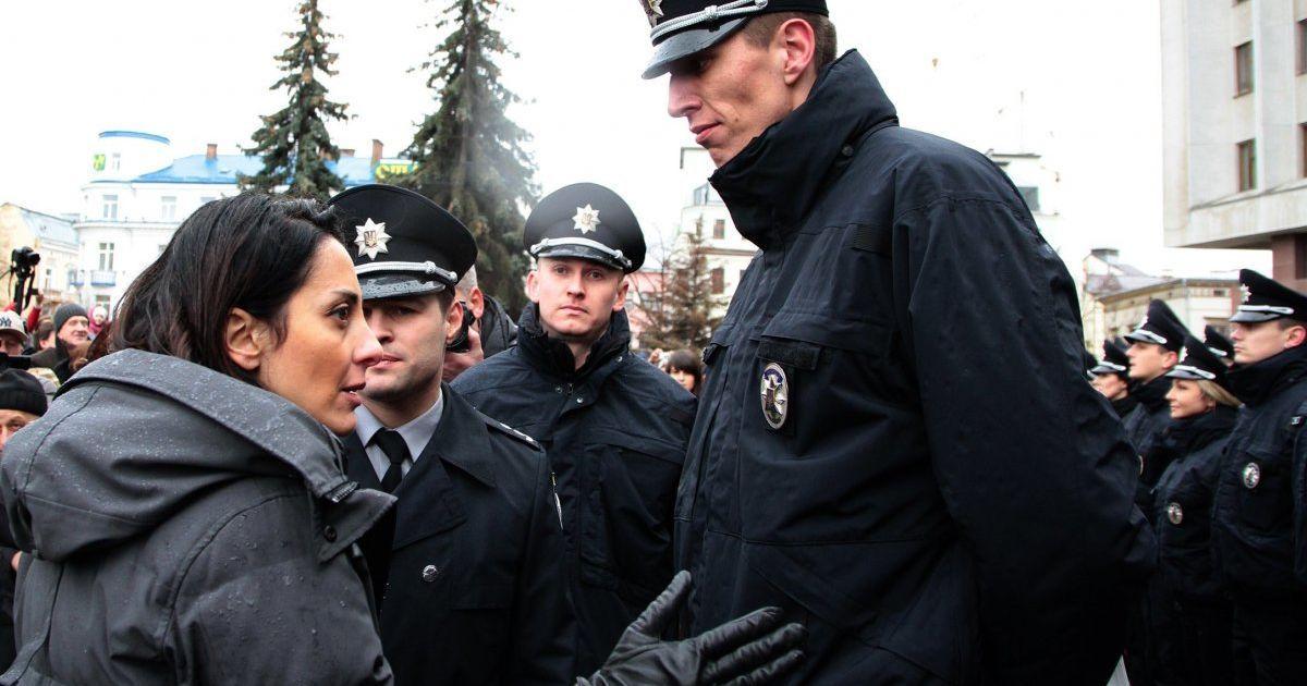 Найвищий патрульний України @ УНІАН