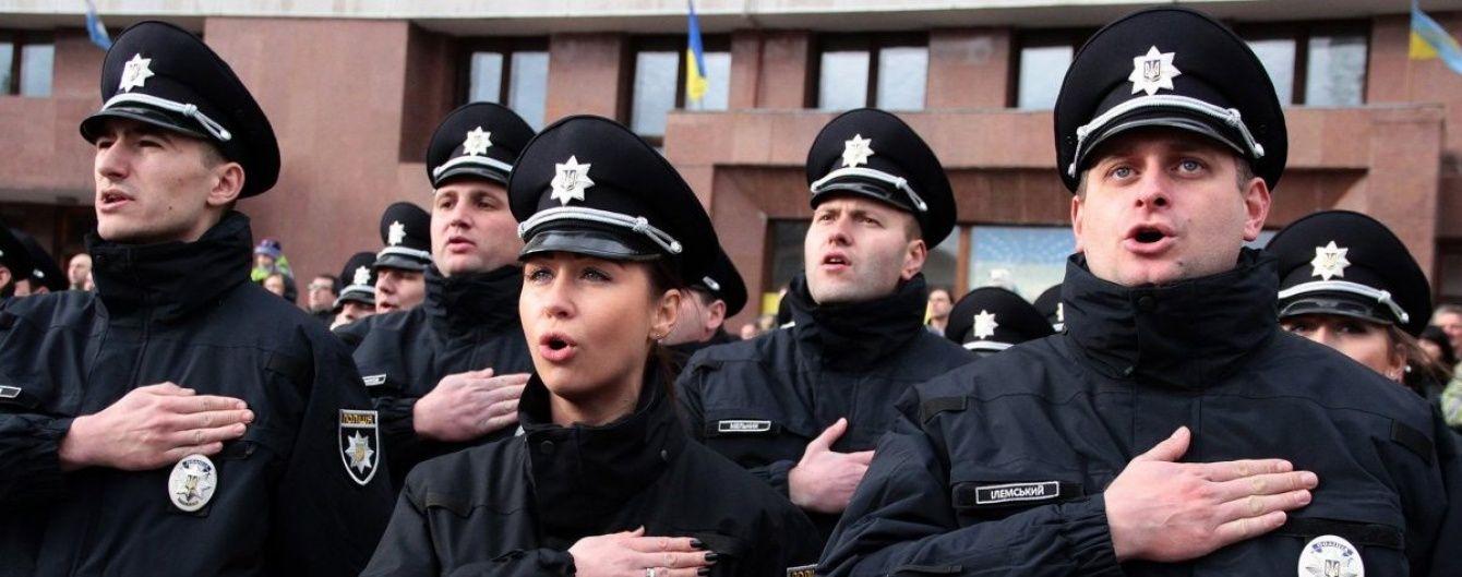 Жорсткий конкурс і учасники АТО: нові патрульні склали присягу в Івано-Франківську