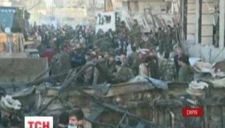 У Сирії ІДІЛ вчинив потрійний теракт
