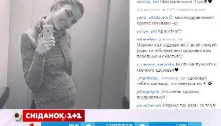 Жена певца Ларсона, который трагически погиб в сентябре, беременна