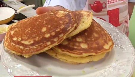 Рецепт кукурузных панкейк от Руслана Сеничкина