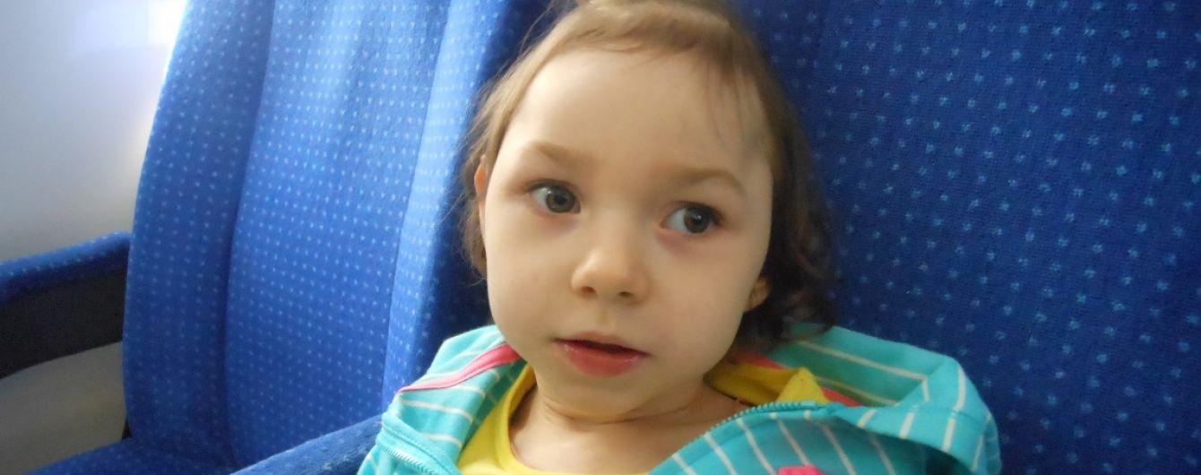 3-летняя Ярослава надеется на помощь неравнодушных