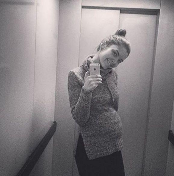 Марина Ларькіна вагітна_1
