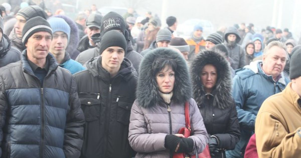Горожане против того, чтобы Губарев руководил городом @ Новости Донбасса