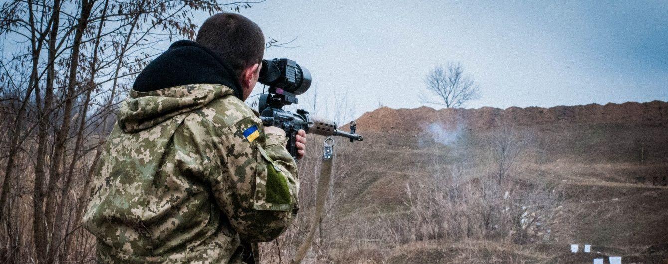 Українські військові відкрили вогонь у відповідь на обстріли бойовиків – штаб АТО