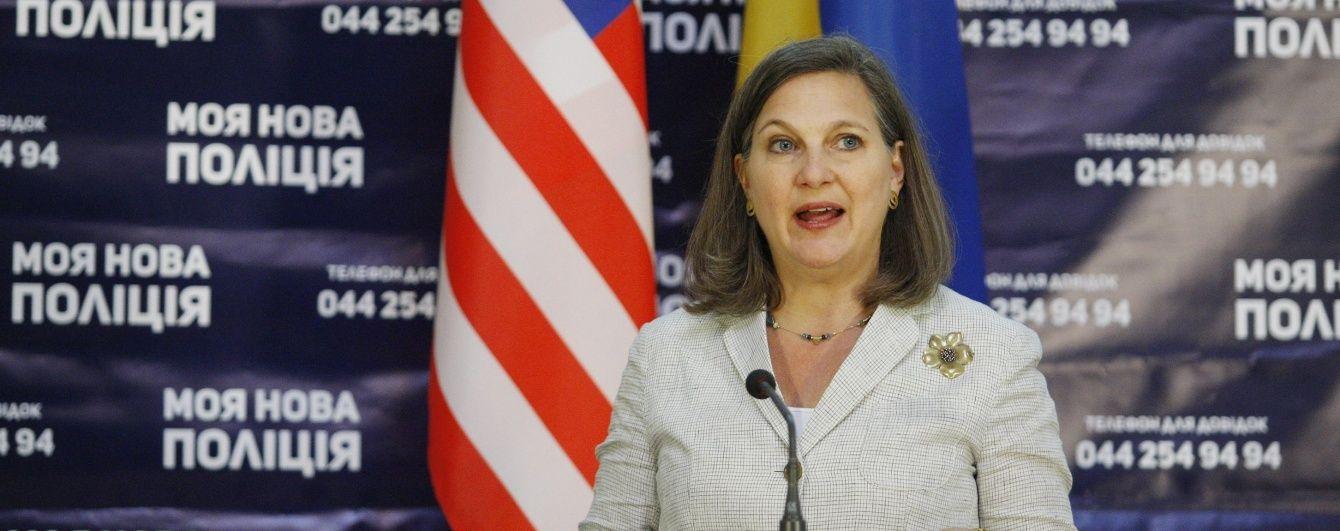 Україна стане васалом Росії, якщо не очиститься від корупції - Нуланд