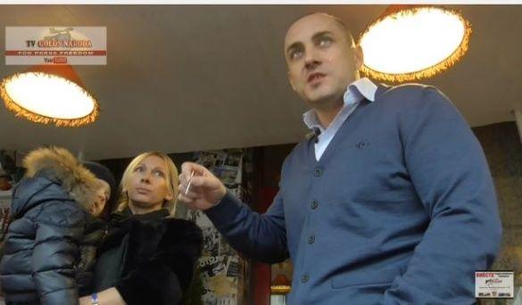 Сергій Корсунський у ресторані Києва