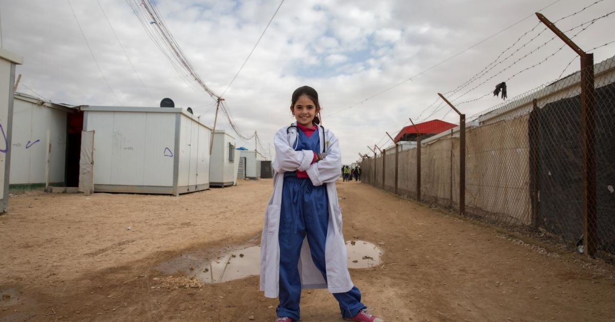 Дівчата визначилися, ким хочуть бути @ The International Rescue Committee