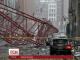 У центрі Нью-Йорка впав будівельний кран