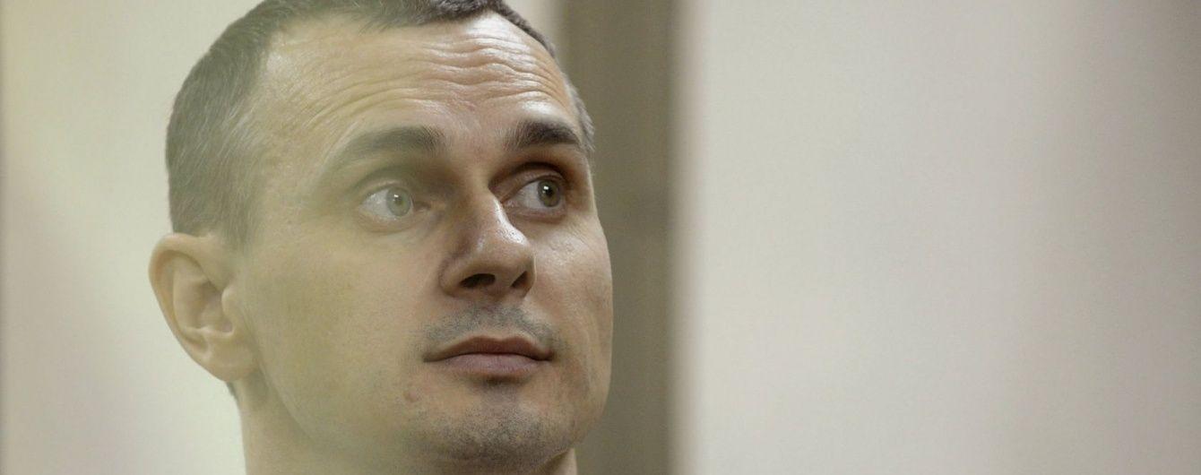 Пленник Кремля Сенцов объявил бессрочную голодовку