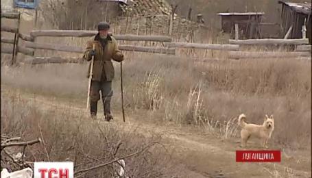 Мешканці села Сизе на Луганщині опинились між двох вогнів