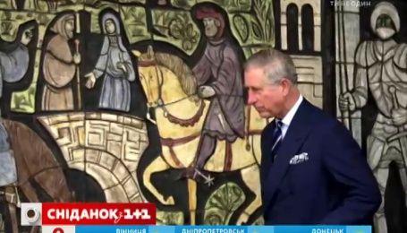 Принц Чарльз зарабатывает на продаже собственных картин