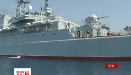 Российские оккупанты готовятся использовать украденный в Украине корабль