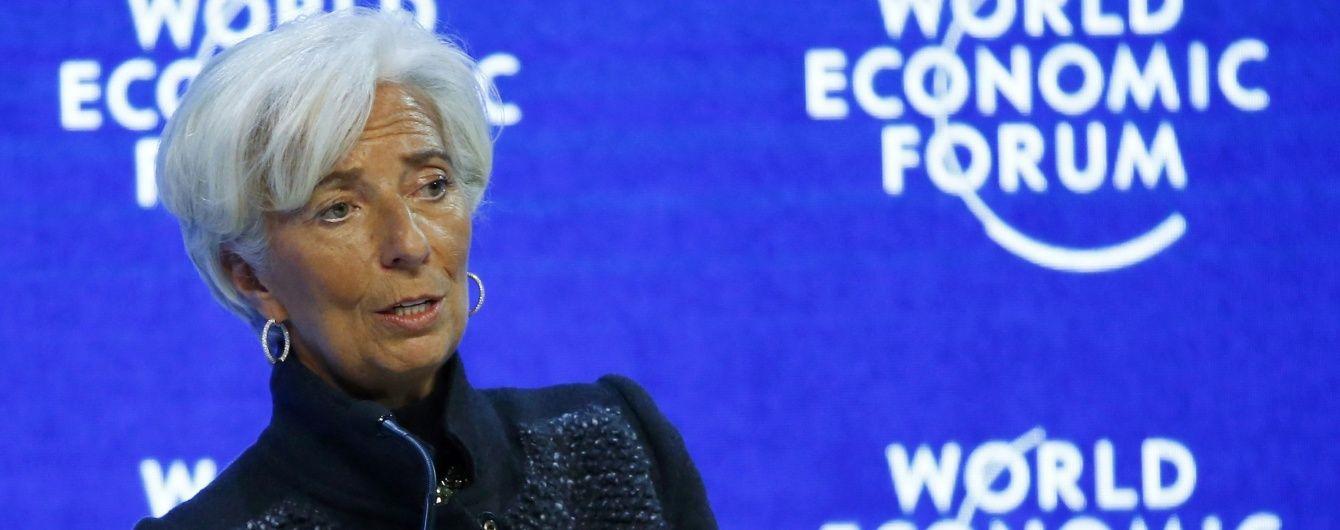 Глава МВФ назвала главные риски для мировой экономики