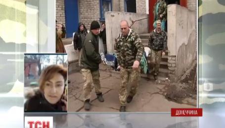 Возле Донецкого аэропорта трое украинских военных подорвались на растяжке